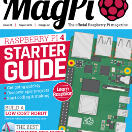 scientificmagazines The-MagPi-August-2019 The MagPi - August 2019 Computer Consumer Electronics  The MagP