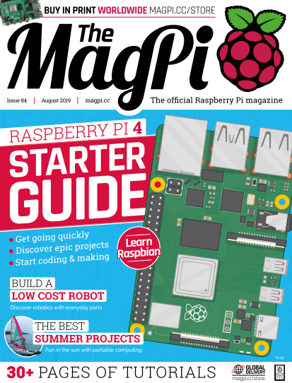 The MagPi - August 2019