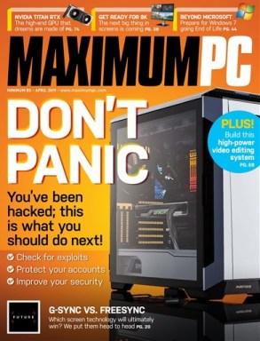 Maximum-PC-April-2019 Maximum PC - April 2019