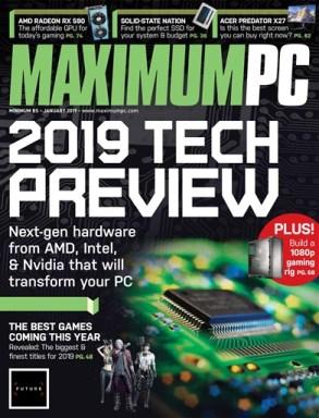 Maximum-PC-January-2019 Maximum PC - January 2019