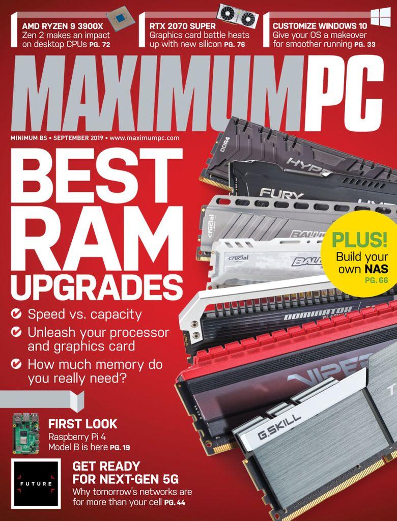 Maximum-PC-September-2019 Maximum PC - September 2019