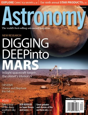 Astronomy-October-2019 Astronomy - October 2019