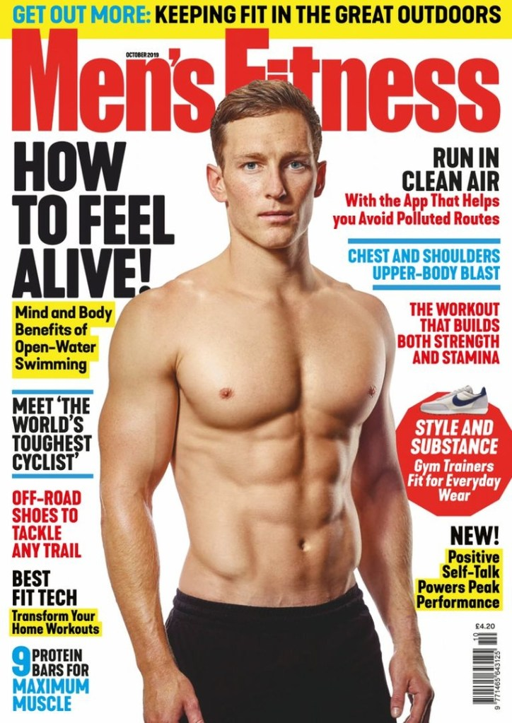 Mens-Fitness-UK-October-2019 Men's Fitness UK - October 2019
