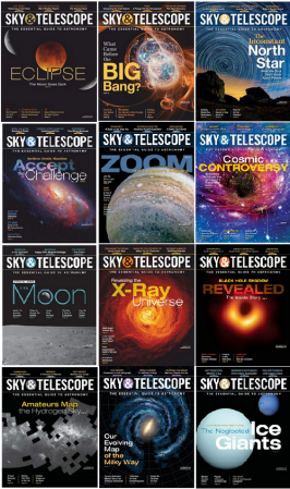 Sky-Telescope-Full-Year-2019-Collection Sky & Telescope - 2019 Full Year Collection