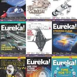 scientificmagazines Eureka-Magazine-Full-Year-2018-Collection Eureka Magazine - Full Year 2018 Collection Full Year Collection Magazines Technics and Technology  Eureka Magazine