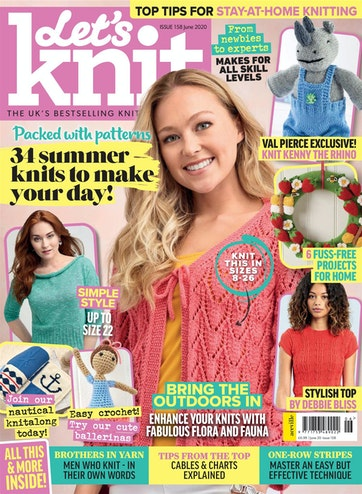 Lets-Knit-Issue-158-June-2020-1 Let's Knit - Issue 158 - June 2020
