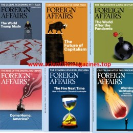 scientificmagazines Foreign-Affairs-–-Full-Year-2020-Collection Foreign Affairs – Full Year 2020 Collection Economics and Finances Full Year Collection Magazines  Foreign Affairs
