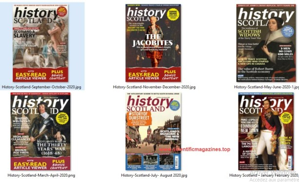 History-Scotland-–-Full-Year-2020-Collection History Scotland – Full Year 2020 Collection