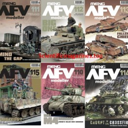 scientificmagazines Meng-AFV-Modeller-–-2020-Full-Year-Collection Meng AFV Modeller – 2020 Full Year Collection Full Year Collection Magazines Military and Army  Meng AFV Modeller