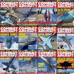 scientificmagazines Combat-Aircraft-–-2020-Full-Year-Collection Combat Aircraft – 2020 Full Year Collection Aviation Full Year Collection Magazines Military and Army  Combat Aircraft