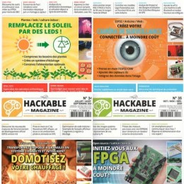 scientificmagazines Hackable-annee-complete-2020 Hackable - année complète 2020 Computer Frensh magazines Full Year Collection Magazines  Hackable