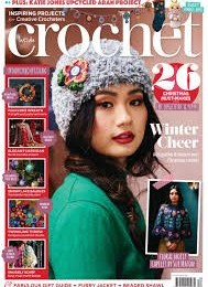 scientificmagazines Inside-Crochet-Issue-130-November-2020 Inside Crochet - Issue 130 - November 2020 Hobbies & Leisure time Knitting and Sewing  Inside Crochet