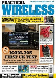 scientificmagazines Practical-Wireless-December-2020 Practical Wireless - December 2020 Technics and Technology  Practical Wireless
