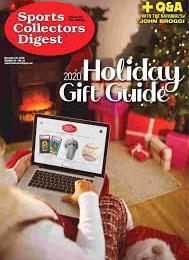 scientificmagazines Sports-Collectors-Digest-November-20-2020 Sports Collectors Digest - November 20, 2020 Sports  Sports Collectors Digest