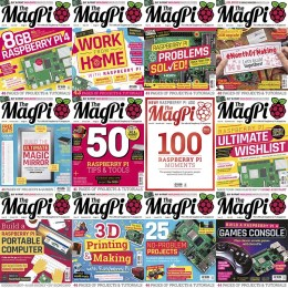 scientificmagazines The-Magpi-Full-Year-2020-Collection The Magpi - Full Year 2020 Collection Computer Consumer Electronics Full Year Collection Magazines  The MagPi