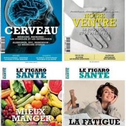 scientificmagazines Le-Figaro-Sante-annee-complete-2020 Le Figaro Santé - année complète 2020 Frensh magazines Full Year Collection Magazines Health  Le Figaro Santé