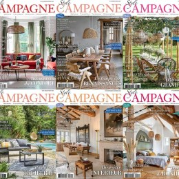 scientificmagazines Style-Campagne-annee-complete-2020 Style Campagne - année complète 2020 Architecture and Bulding Arts & Photography Frensh magazines Full Year Collection Magazines  Style Campagne