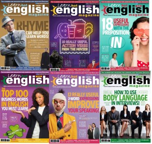 Learn Hot English Magazine - 6 Issues - 2021