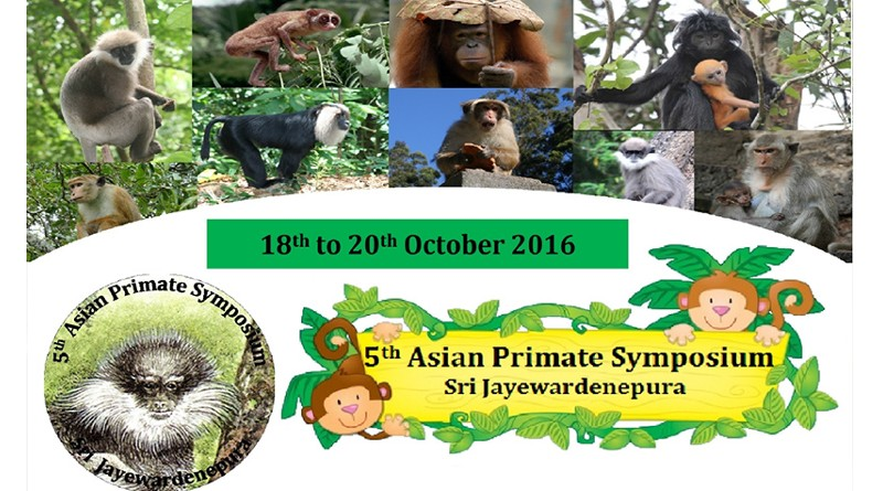 5th Asian Primate Conference Colombo 2016