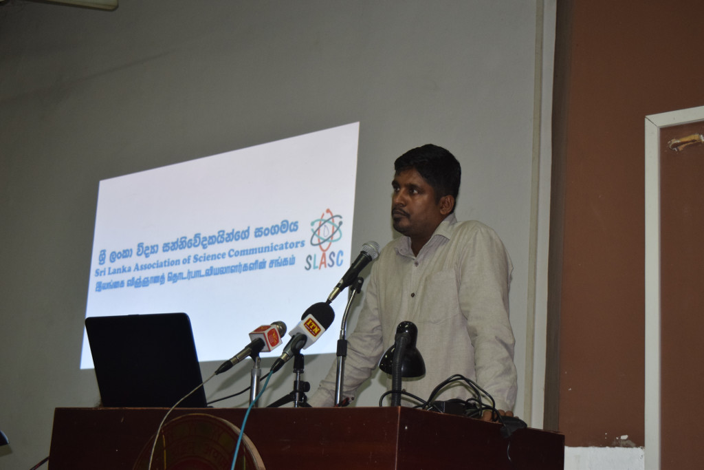 First AGM of Sri Lanka Association of Science Communicators Held in Colombo
