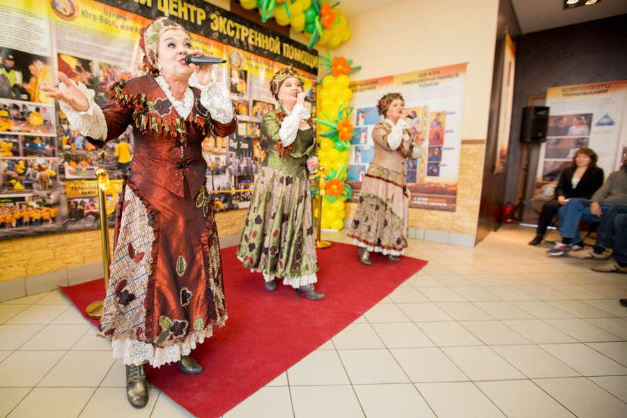 Открытие центра помощи Уральского тура Доброй воли в Оренбурге. Концерт