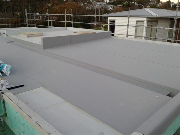 three sheets down, and dressed up outside of parapet