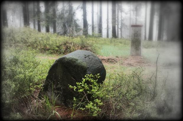 Na północnej granicy dóbr opactwa broumowskiego
