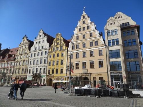 Kamienice w Rynku po stronie zachodniej.
