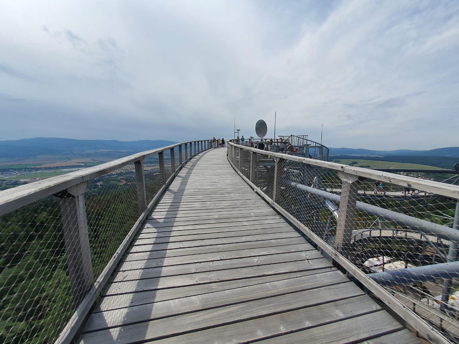 Vyhliadková Veža Bojnice Čajka v Oblakoch