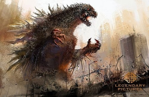 Legendary Pictures Godzilla Concept Art