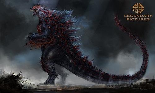 New Godzilla Concept Art