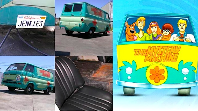 The Mystery Machine, for the low low price of $3200