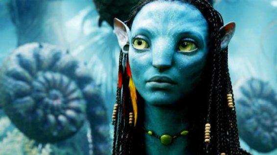 Zoe Saldana as Neytiri in 'Avatar'