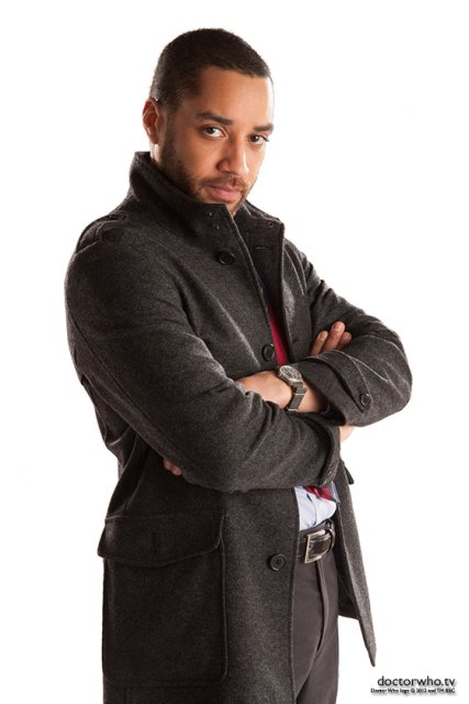 Samuel Anderson as new Doctor Who companion Danny Pink.