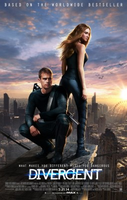 Four and Tris overlook the city