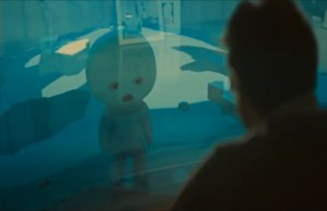 Joaquin Phoenix confronts an AI in 'Her'.