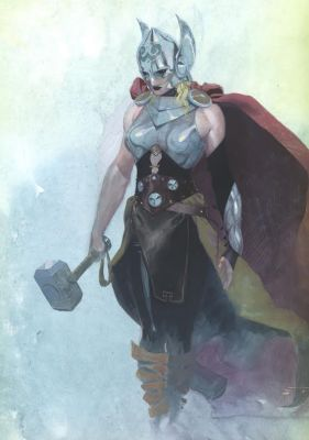 The new Thor is now a lady.