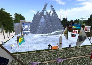 """Visit SCIFI.radio's special in-world media presentation """"Journey to Adventure"""" in Second Life."""