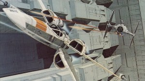 Ralph McQuarrie's X-Wing concept art.