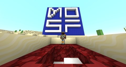 """""""Welcome to the Museum of Science Fiction's Minecraft server.  I'm your host, Boba Fett."""""""