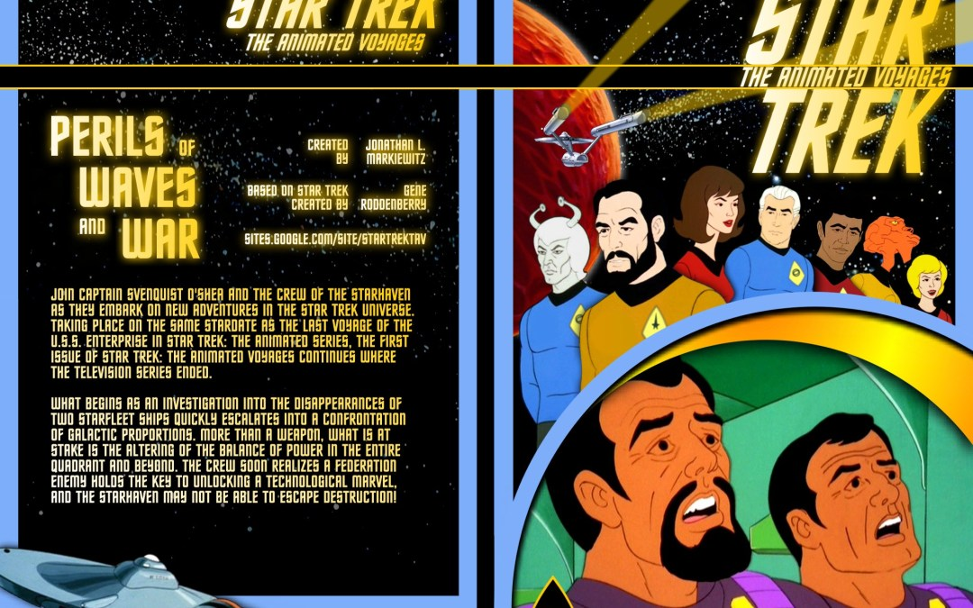 'Star Trek: The Animated Voyages' Fanfic Graphic Novel