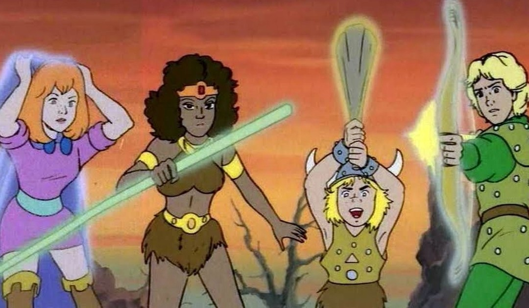 Dungeons and Dragons cartoon series