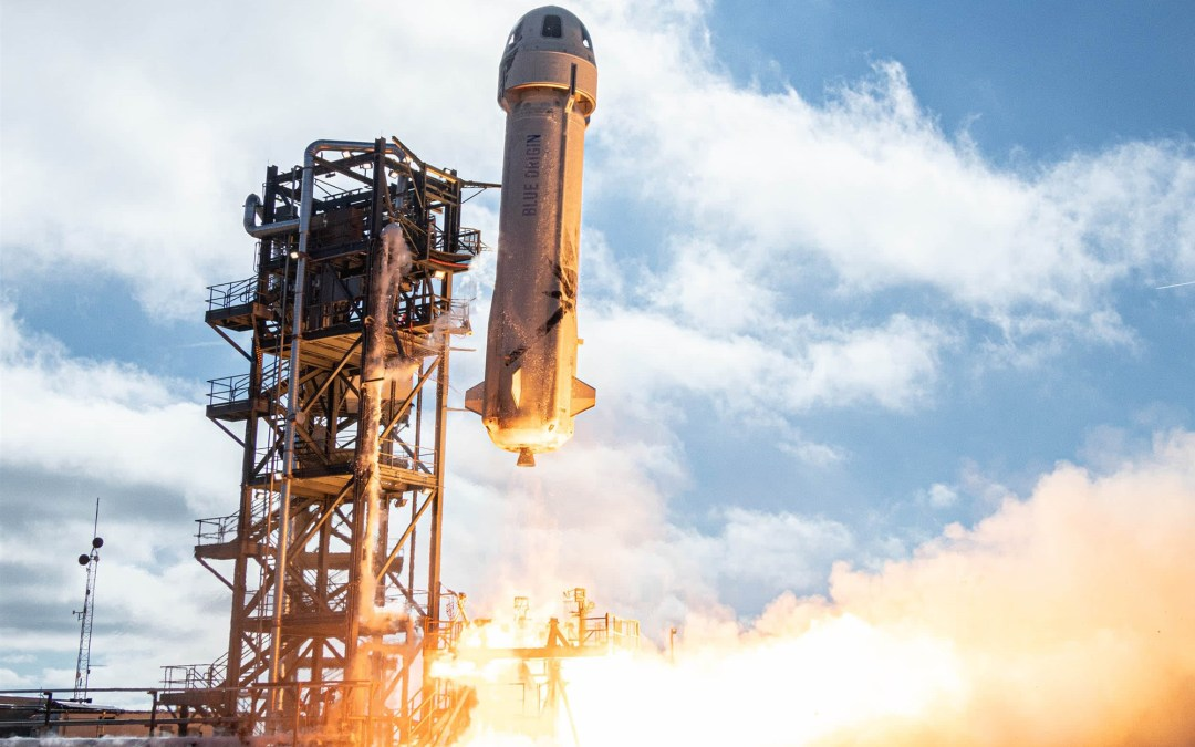 Watch Blue Origin's 'New Glenn' Launch Its First Space Capsule and Stick Its Landing