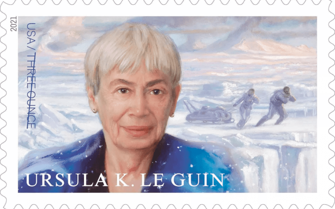 Pioneering SF Author Ursula K. Le Guin Gets U.S. Stamp