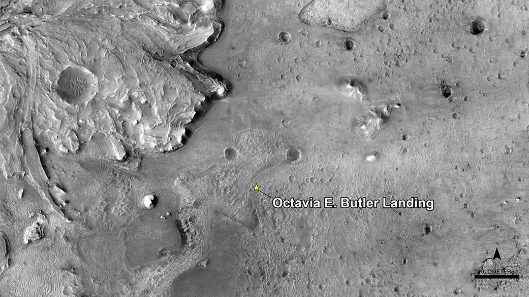 Science Fiction Icon Octavia Butler Honored on Mars