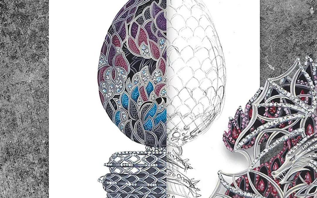 Presenting the 'Game of Thrones' Fabergé Egg