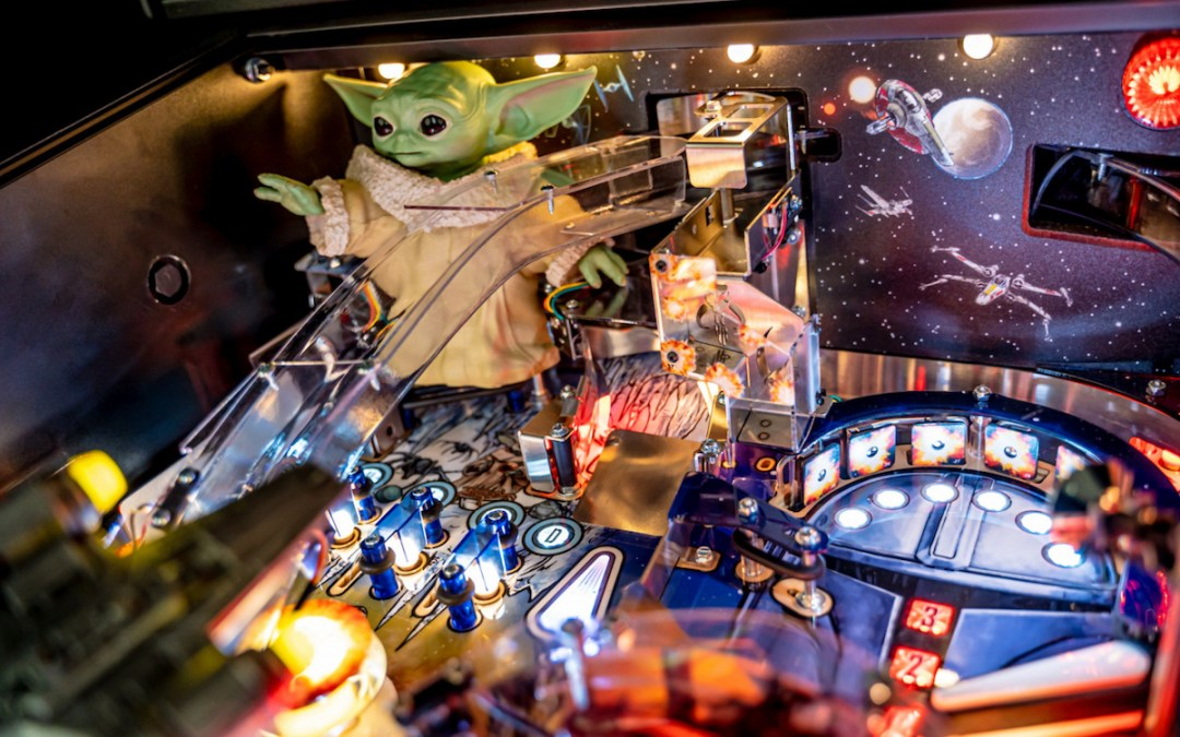 Stern Pinball Launches New Pinball Machines Inspired by 'The Mandalorian™'