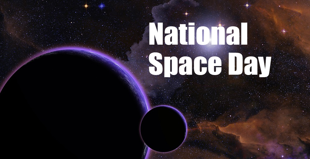 It's May 7, 2021 – Happy National Space Day!