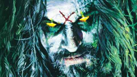Rob Zombie artwork from Hillbilly Deluxe