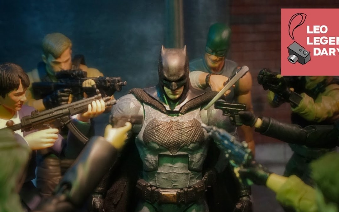 Video of the Day: Epic Batman Stop-Motion Fight